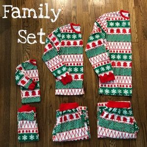 Family Christmas PJ Set